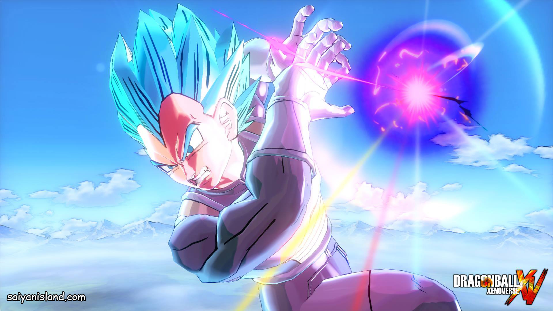 Gun Vs Galick Vegeta Kamehameha Wallpaper Live
