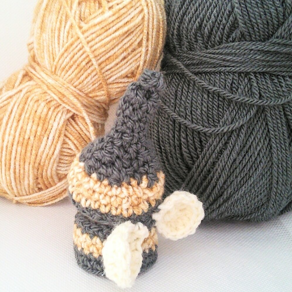 Free crochet pattern - cork gnome