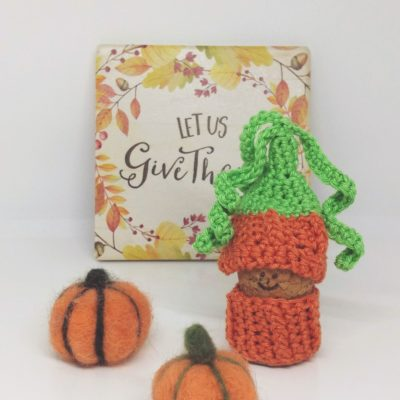Pumpkin Gnome - Free Crochet Pattern - Crochet Cloudberry