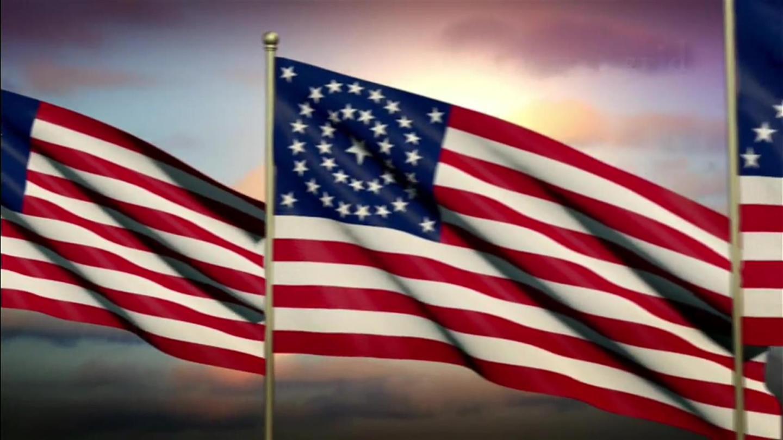 Day Flag Rules Memorial Display