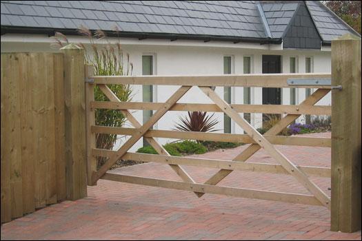 Treated Soft Wood Gates