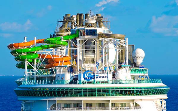 Cruise Ships Water Slides