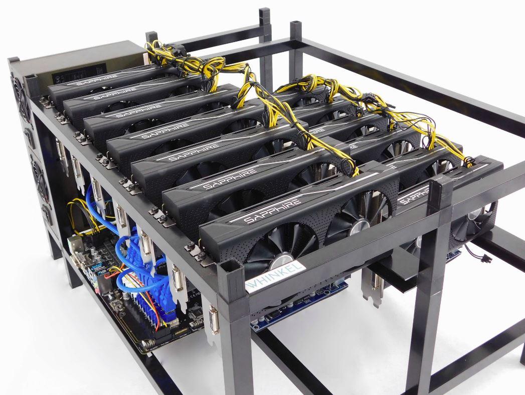 configurazione rig bitcoin mineraria