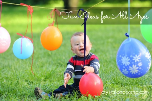 First Birthday Party Games and Activity Ideas   CrystalandComp com First Birthday Party Activities