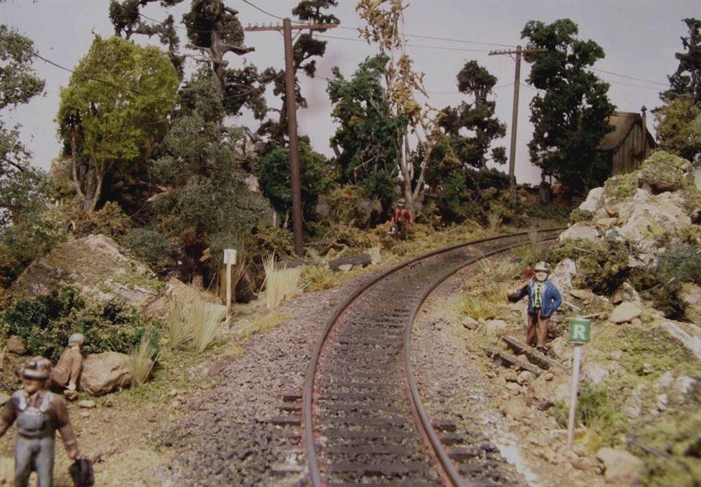 Forest Scene On Track Model Railroader Magazine Model