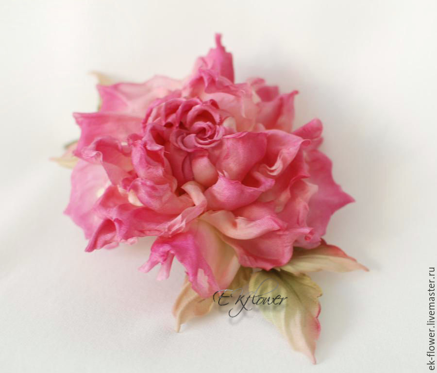 FABRIC FLOWERS  Silk flowers  Rose  Milenia      shop online on     Flowers handmade  Livemaster   handmade  Buy FABRIC FLOWERS  Silk flowers