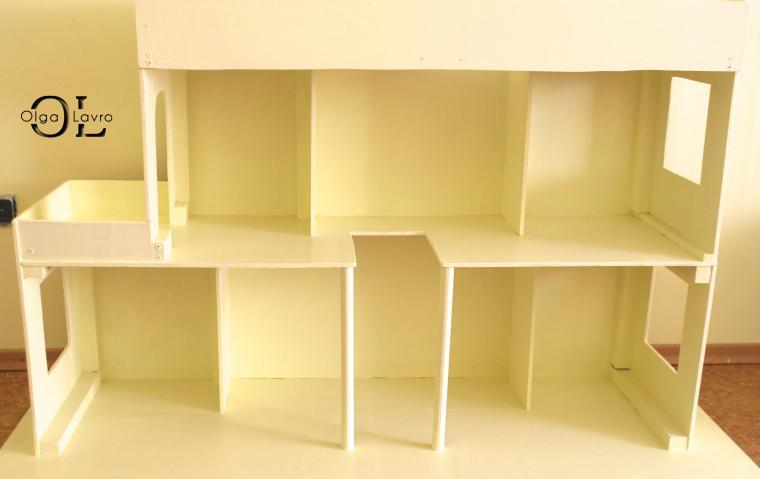 Делаем красивый дом и мебель для кукол Барби, фото № 2