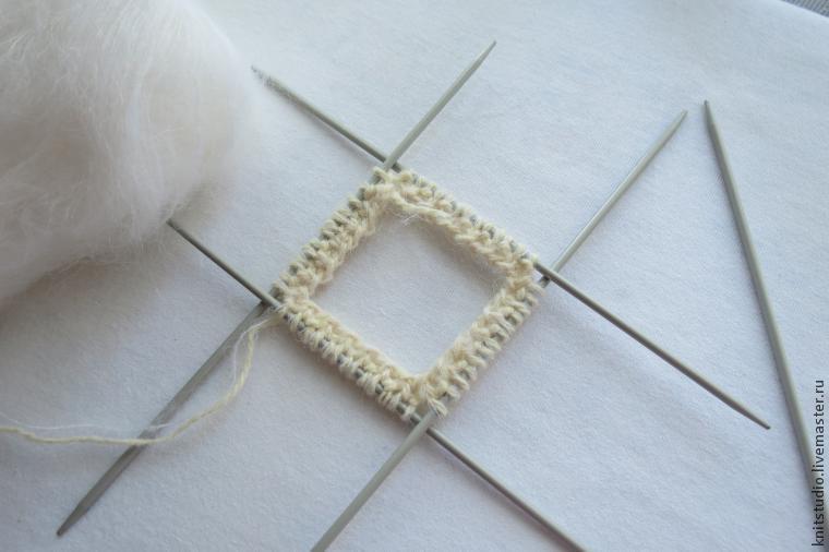 Вяжем шерстяные носки на 5 спицах, фото № 3
