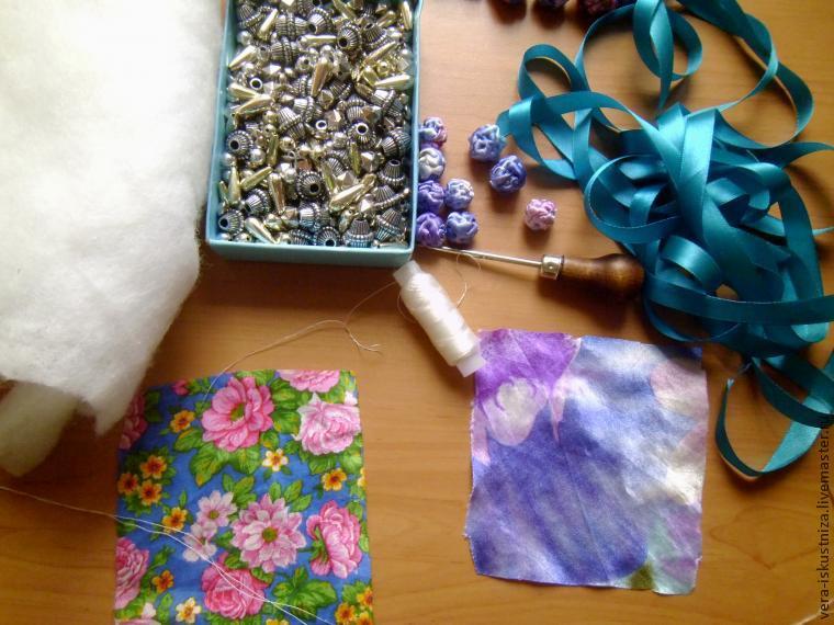 Coaseți margele textile minunate, Foto № 10