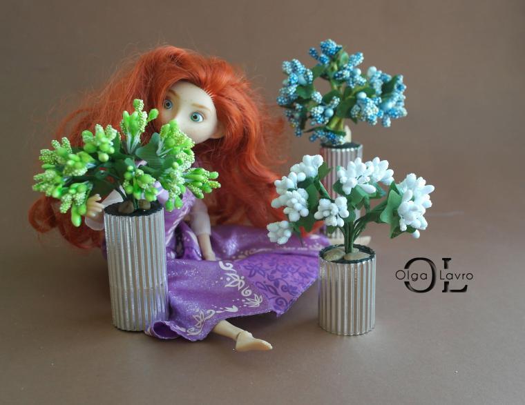 Делаем красивый дом и мебель для кукол Барби, фото № 26