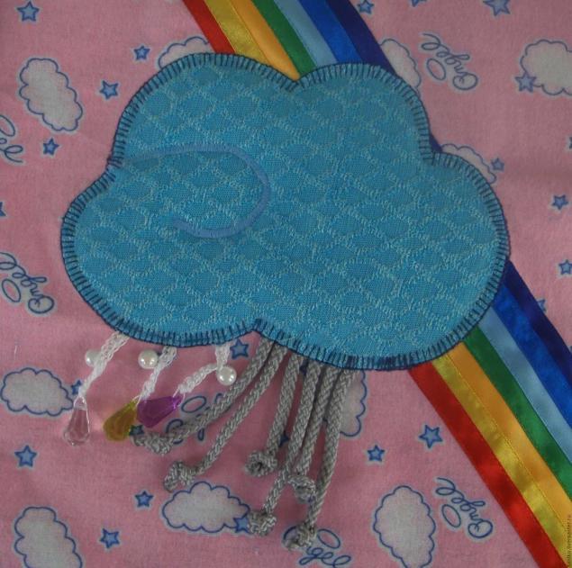 我们用自己的手缝了一个开发的地毯,照片№6