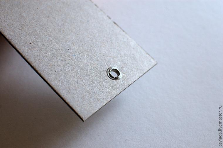دستورالعمل های دقیق برای ساخت یک دفتر خاطرات ساده برای نوشتن ایده ها، عکس № 22
