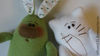 Machen Sie lustige Spielsachen aus Fleece, Foto № 11