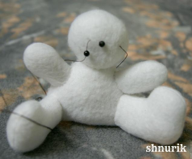 Снеговик в шапочке. Мастер-класс., фото № 11