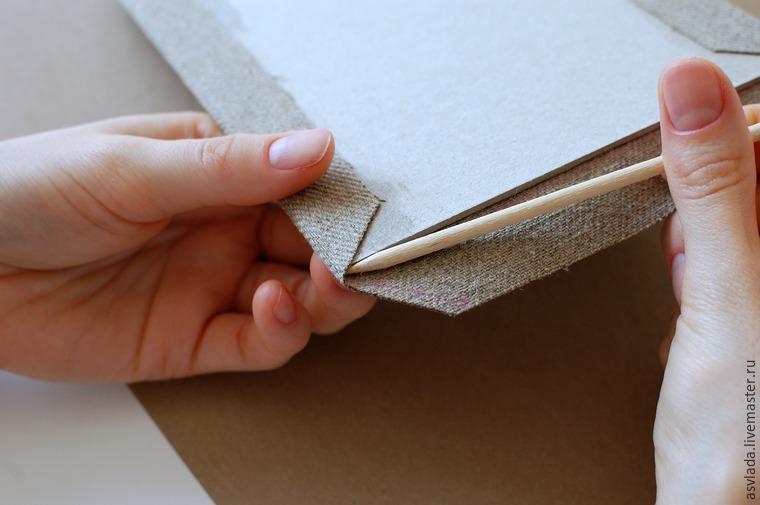 دستورالعمل های دقیق برای ساخت یک دفتر خاطرات ساده برای نوشتن ایده ها، عکس شماره 14
