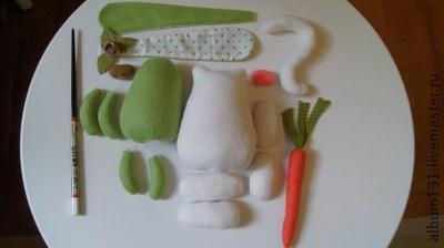 Machen Sie lustige Spielsachen aus Fleece, Foto № 7