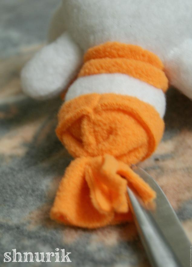 Снеговик в шапочке. Мастер-класс., фото № 27