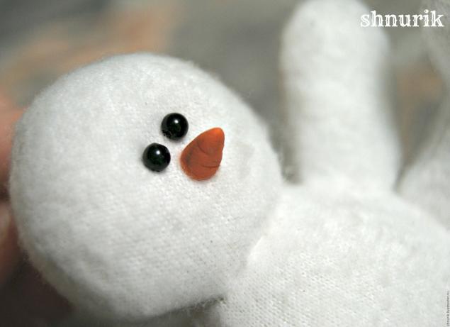 Снеговик в шапочке. Мастер-класс., фото № 16