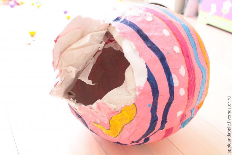 Праздничная пиньята своими руками, фото № 20