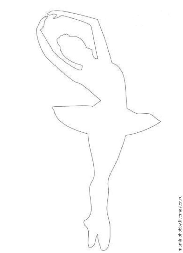Balet di tingkap, atau memotong salji yang menarik, foto № 9