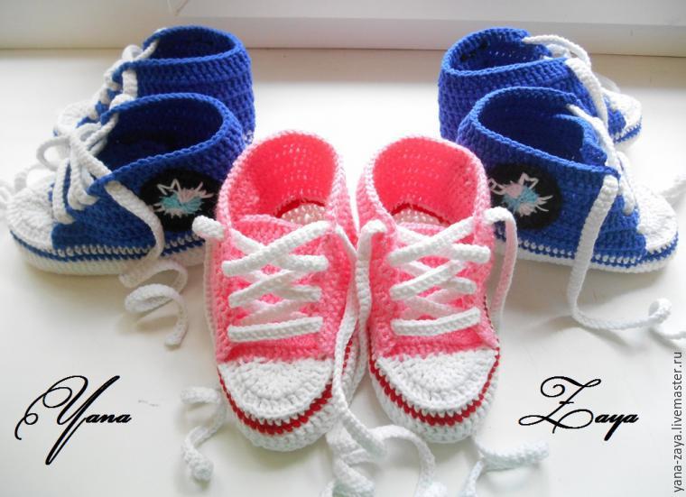 Knit tığ işi patik-spor ayakkabı, fotoğraf № 26