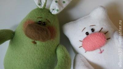 Machen Sie lustige Spielsachen aus Fleece, Foto № 12