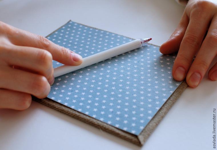 دستورالعمل های دقیق برای ساخت یک دفتر خاطرات ساده برای نوشتن ایده ها، عکس № 18