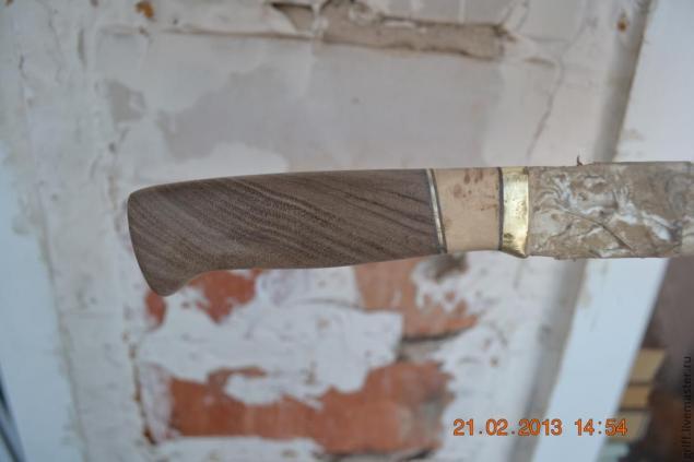 Como fazer uma alça de faca, foto № 17