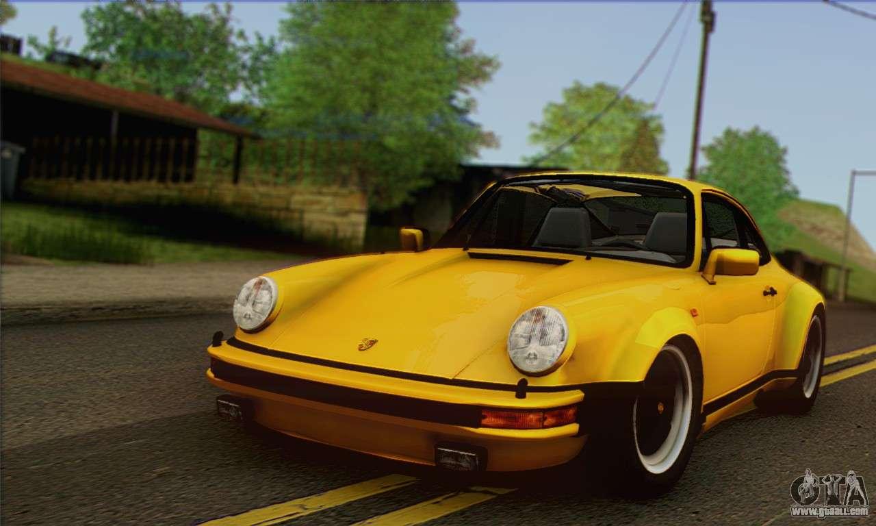 1985 Porsche Turbo Look