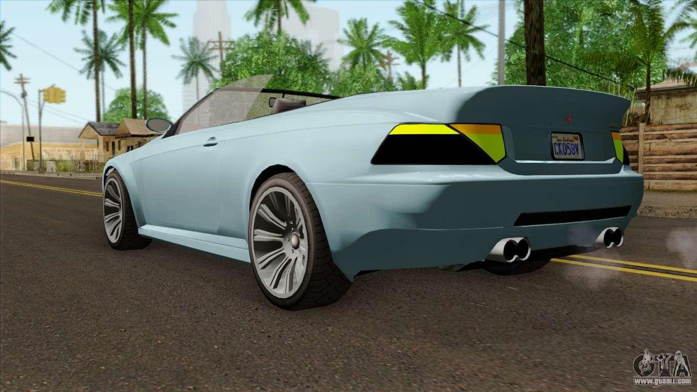 Car 5 Gta Ubermacht Cabrio