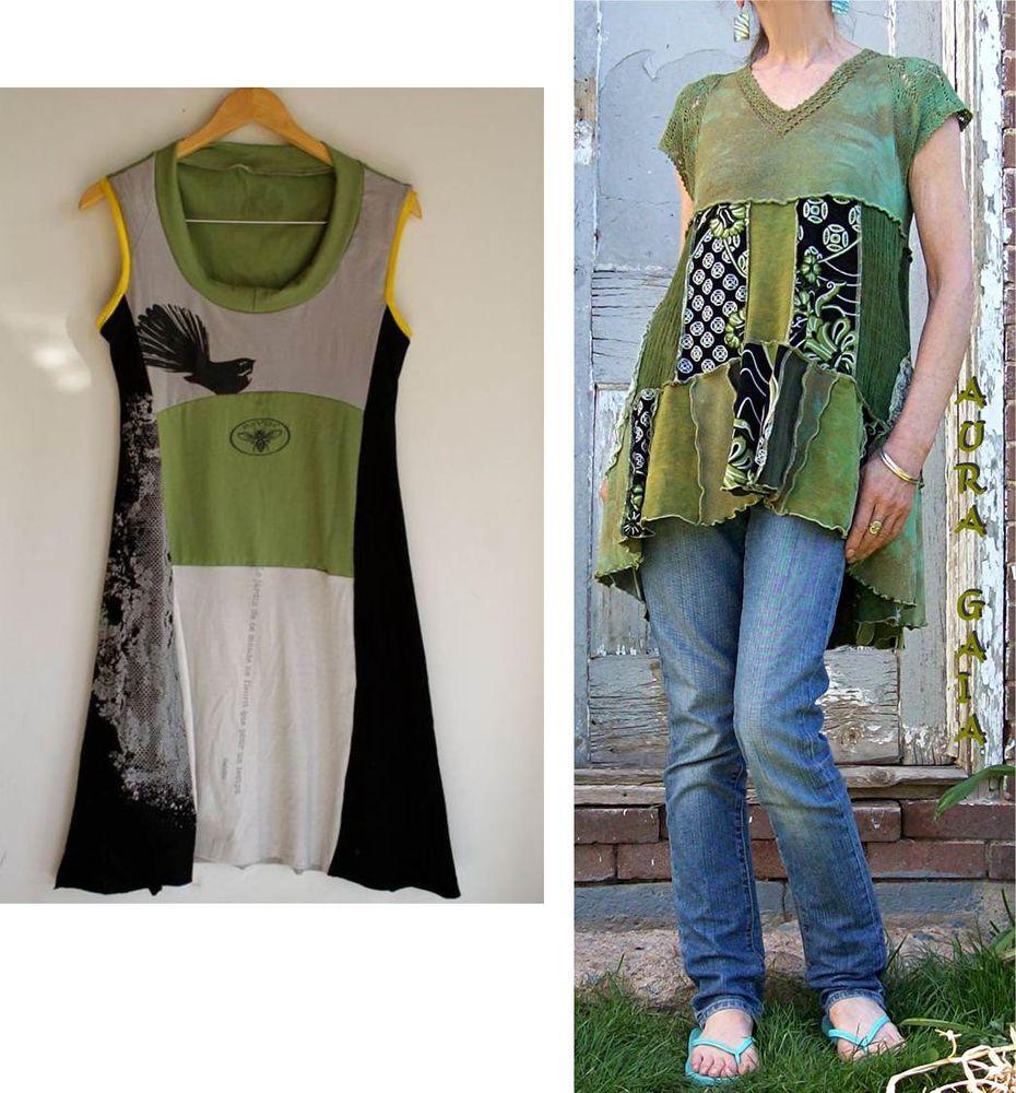 糸の上の世界で、または古い服から新しいスタイリッシュなものを作る、写真№1