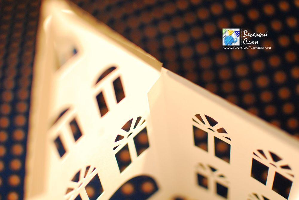 Vytvořit magické město z papíru, fotografie № 20