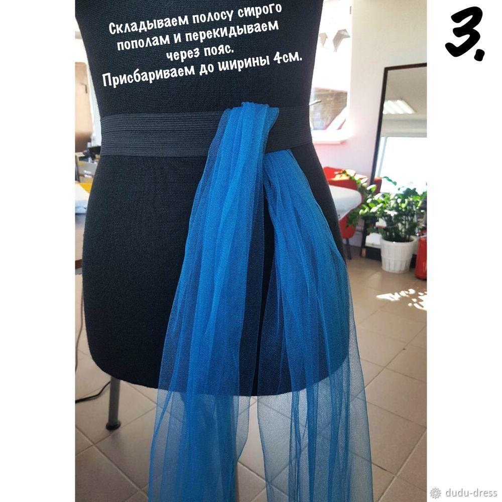 Біз майлы юбка-пакетті автомобильдерсіз тігеміз, сурет № 6