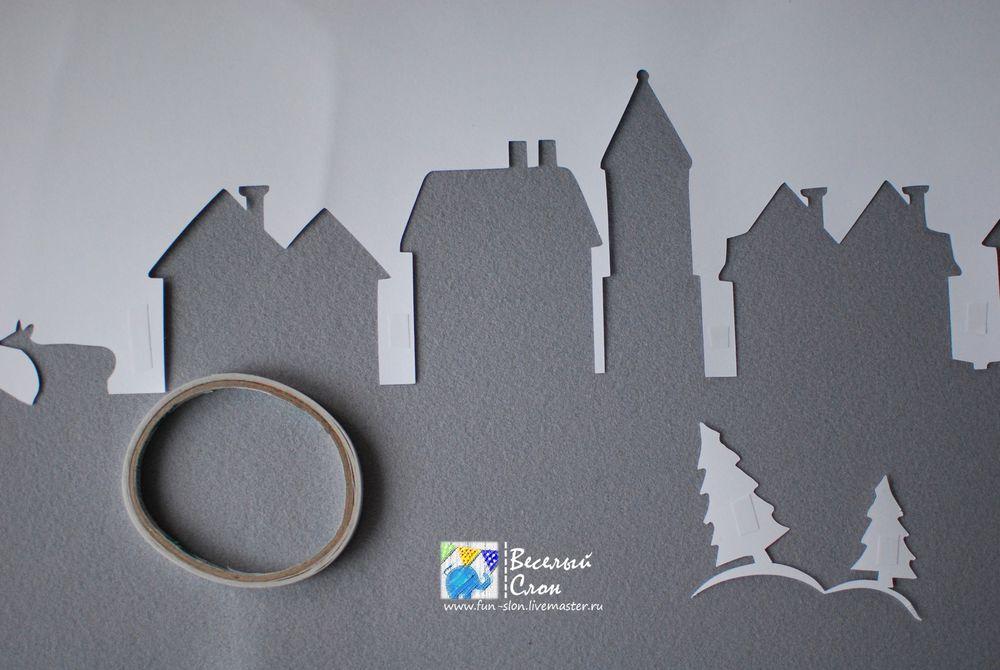 Vytvořit magické město z papíru, fotografie № 39