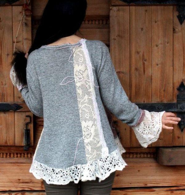 С миру по нитке, или Как из старой одежды сделать новые стильные вещи, фото № 31