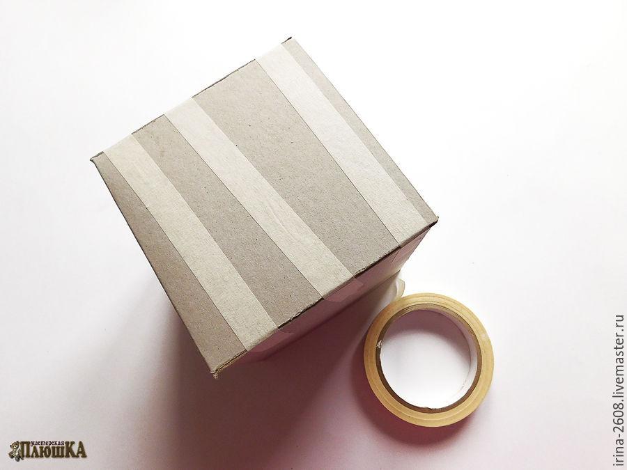 Коробка любого размера с «нуля» своими руками. Быстро, просто, бюджетно, фото № 9