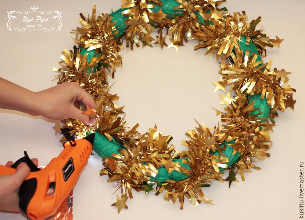 Создаем рождественский венок, фото № 10