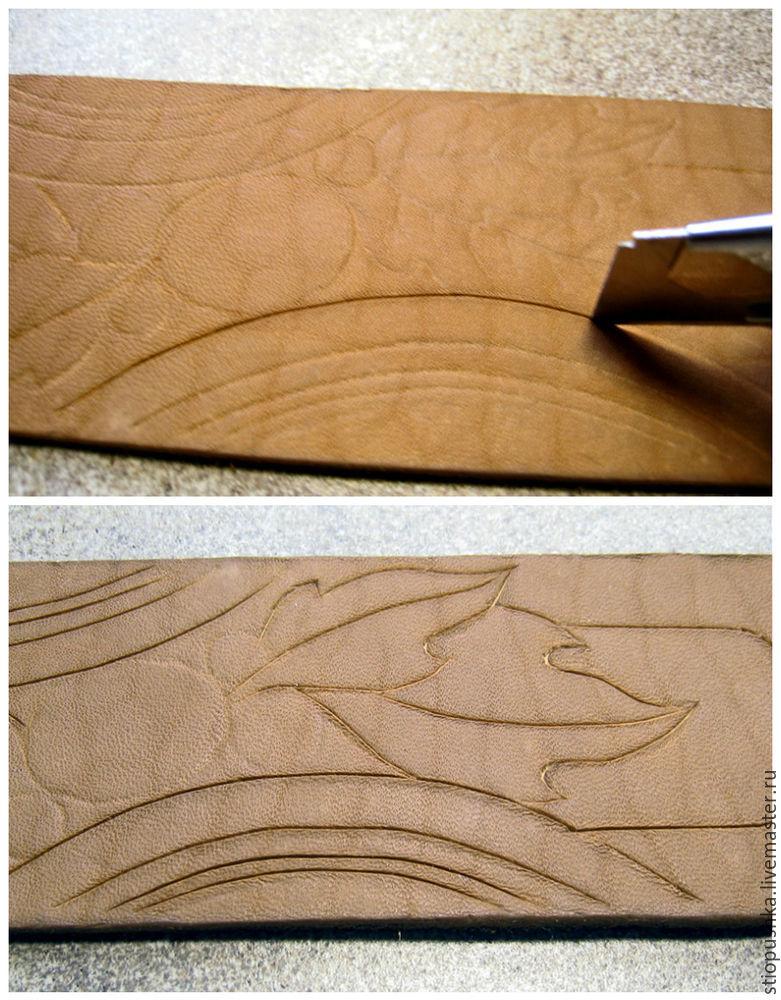 私たちは革のブレスレット「プレーリッジ秋」、写真を作ります。