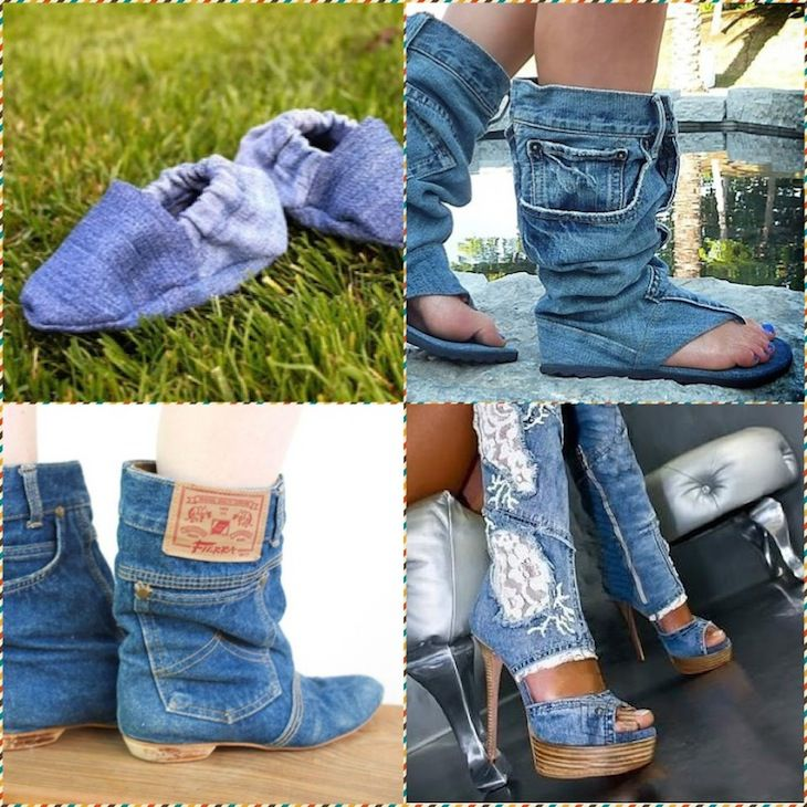 25 Ide Super untuk Kehidupan Kedua Jeans, Foto № 29
