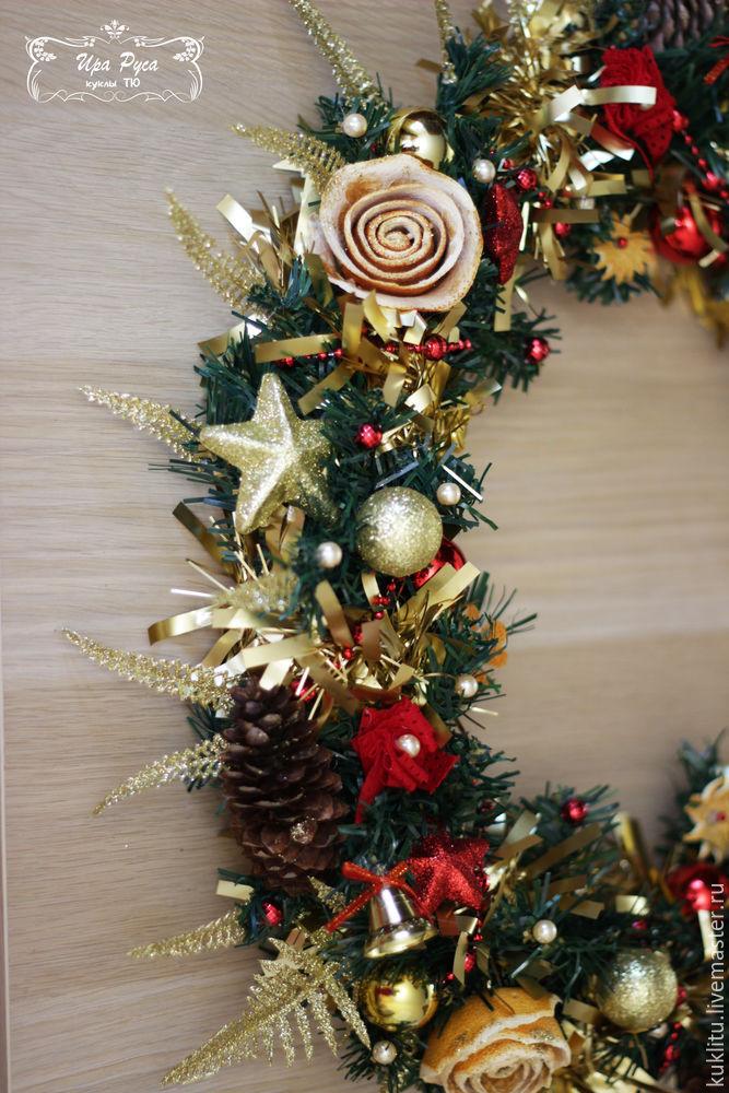 Создаем рождественский венок, фото № 39