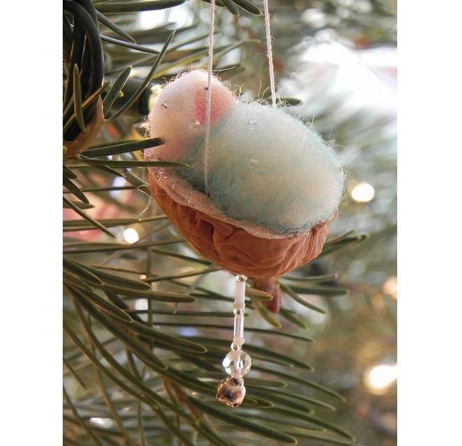 Рождестволық шыршаны жақсы безендіріңіз! Рождестволық ойыншықтардың 50 идеялары оны өзіңіз жасайды, сурет № 26