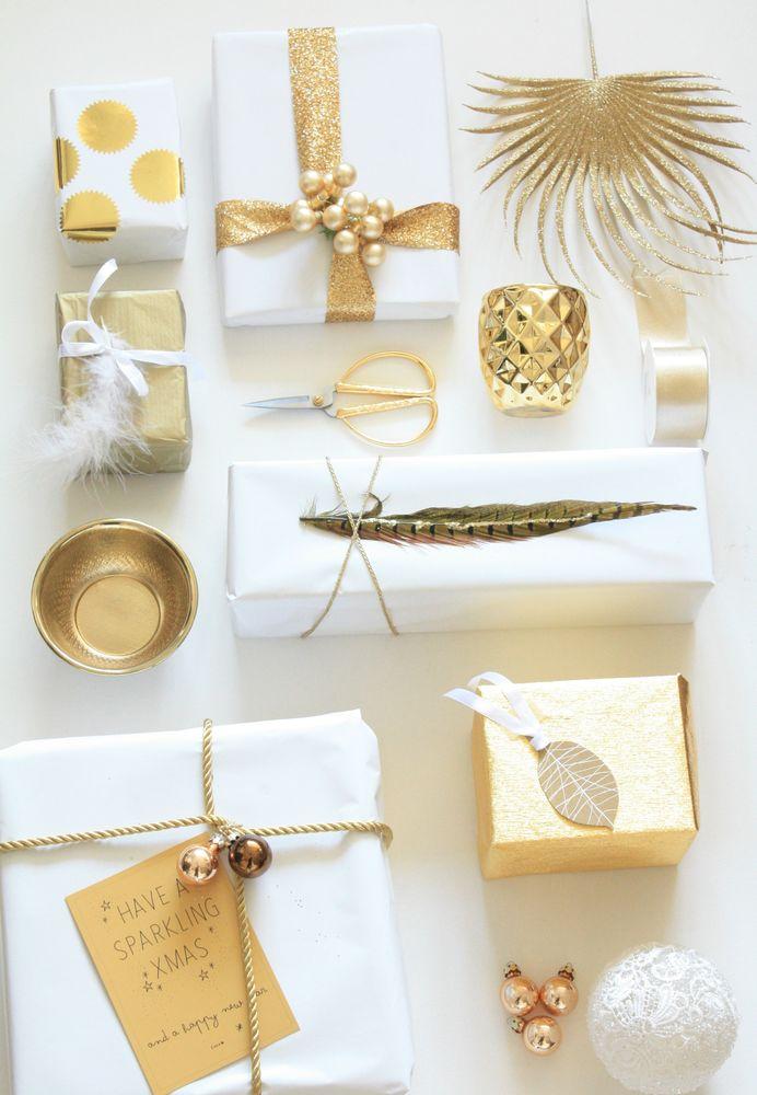 50 interessante ideer til emballering af nytårs gaver, foto № 13