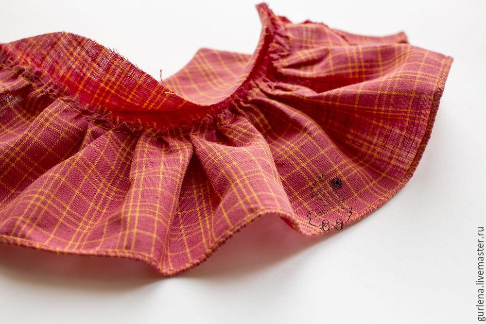 Textilpuppe von der Krone zu den Fersen, Foto № 24
