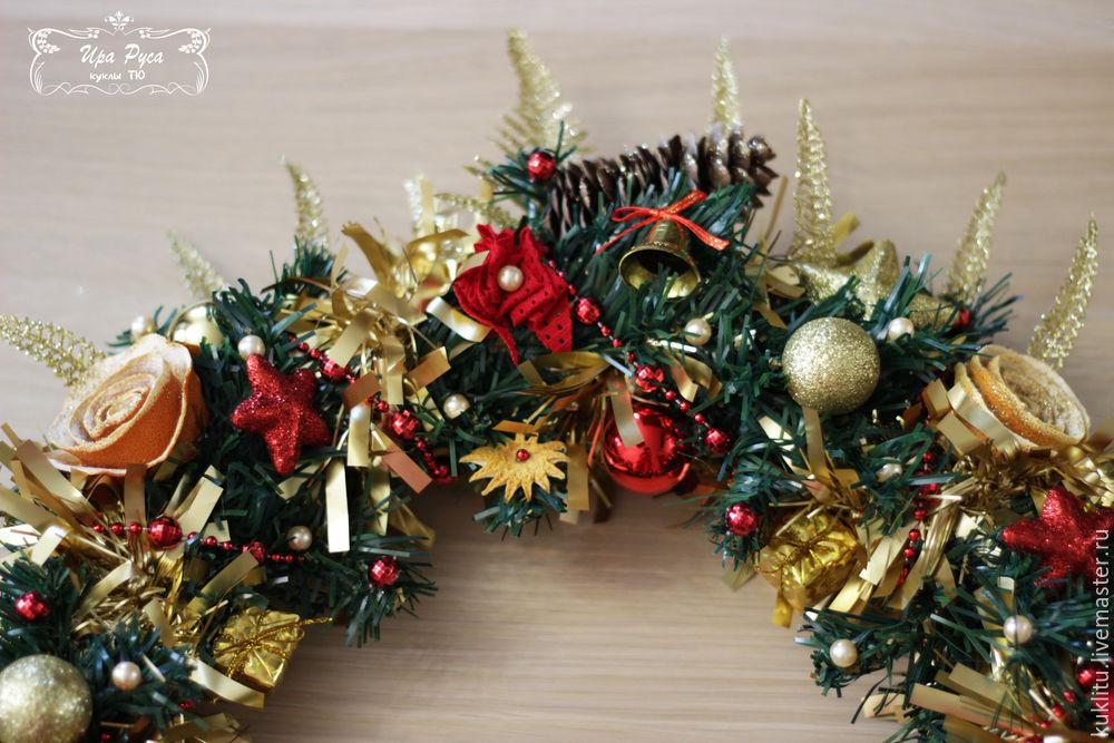 Создаем рождественский венок, фото № 40