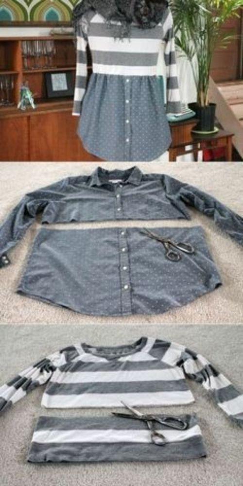 Превращения вещей идеи для переделки одежды. Часть 1, фото № 8