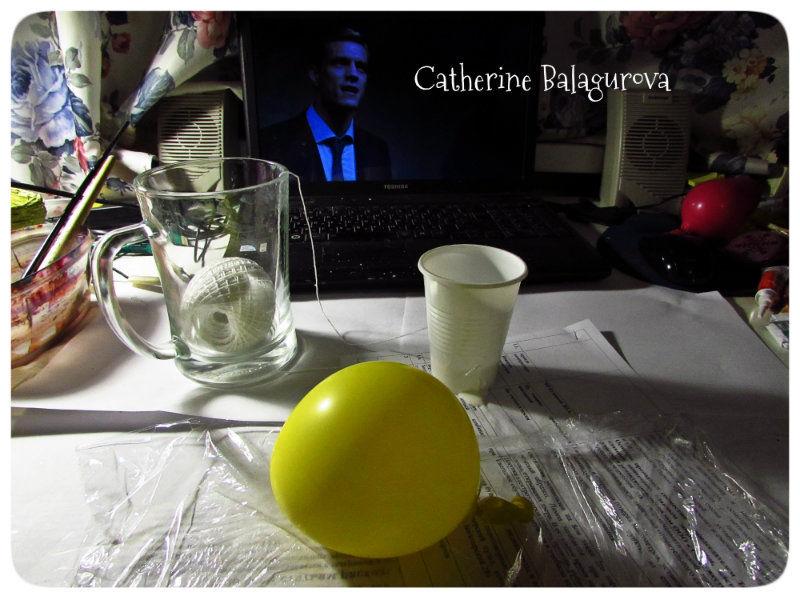 Как сделать шары из ниток и клея ПВА своими руками, фото № 8
