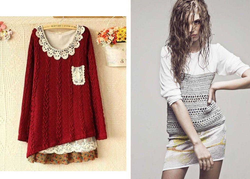 糸の上の世界とともに、または古い服から新しいスタイリッシュなものを作る、写真番号33