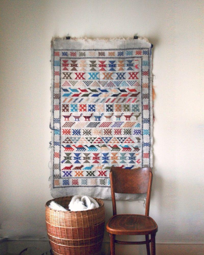Ломаем стереотипы и вешаем ковер на стену, фото № 37
