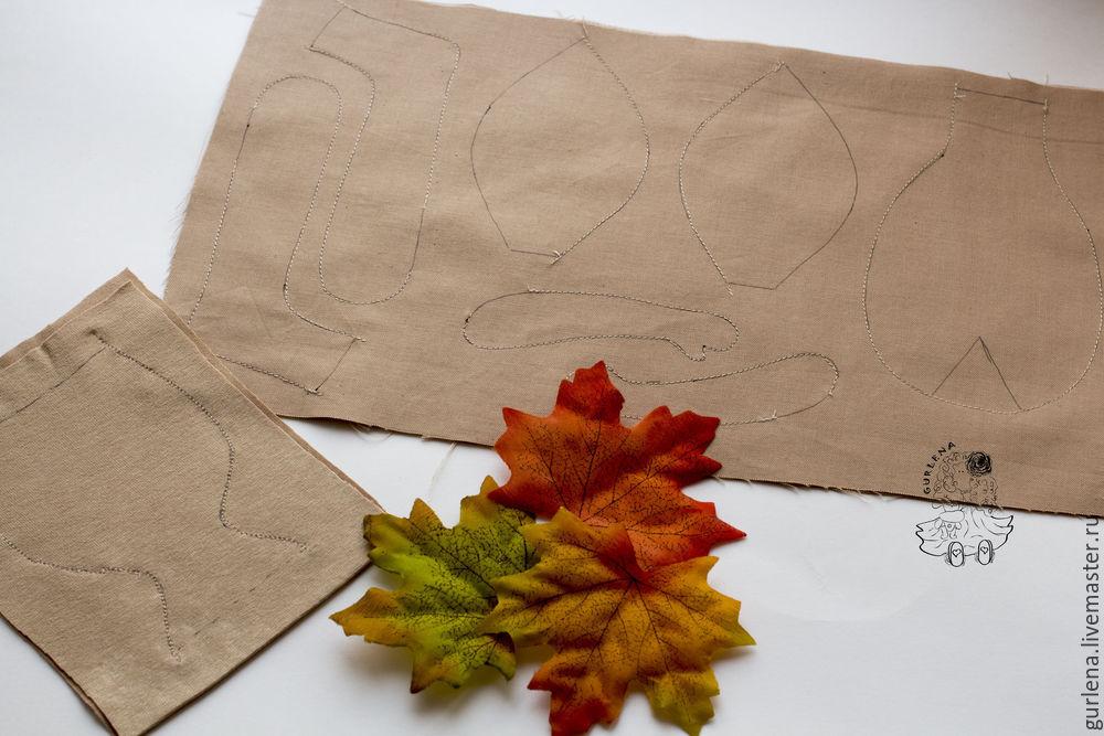 Textilpuppe von der Krone zu den Fersen, Foto Nummer 5