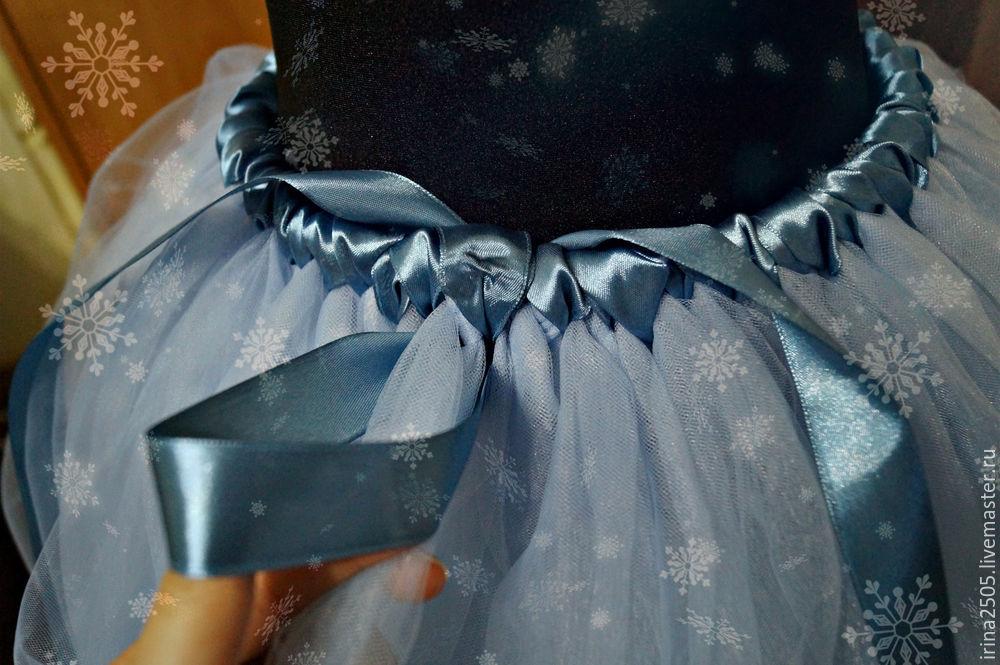 Создаем костюм «Снежинки» на Новый год, фото № 18